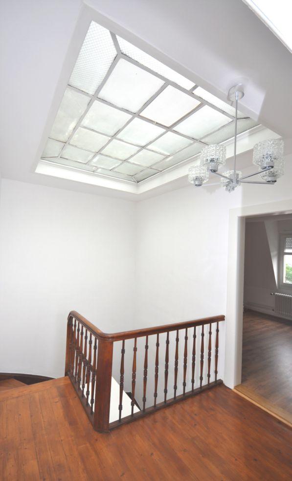 Treppenhaus Maisonette-Dachwohnung