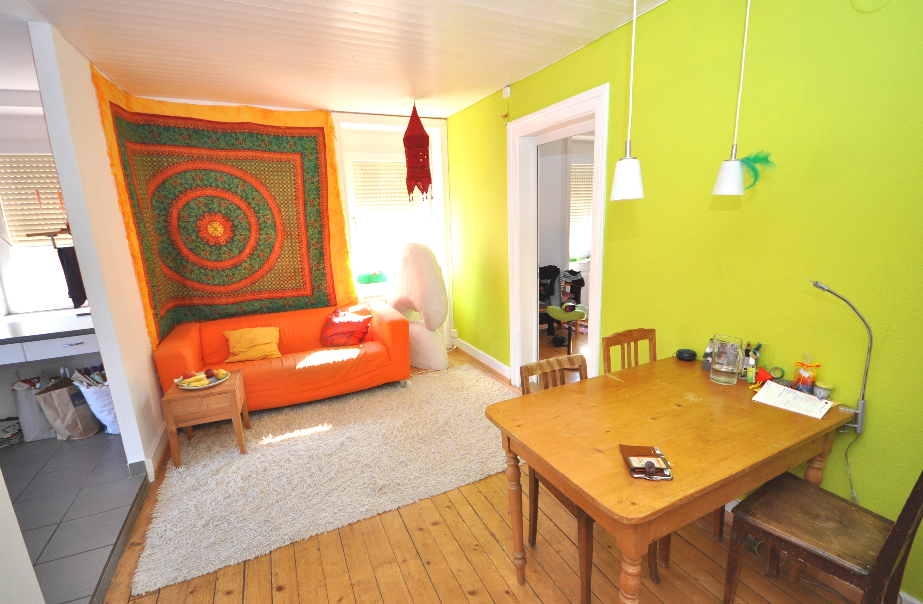 Zimmer in der Dachwohnung