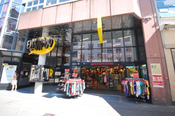 Kino, Haus-und Boutique-Eingang