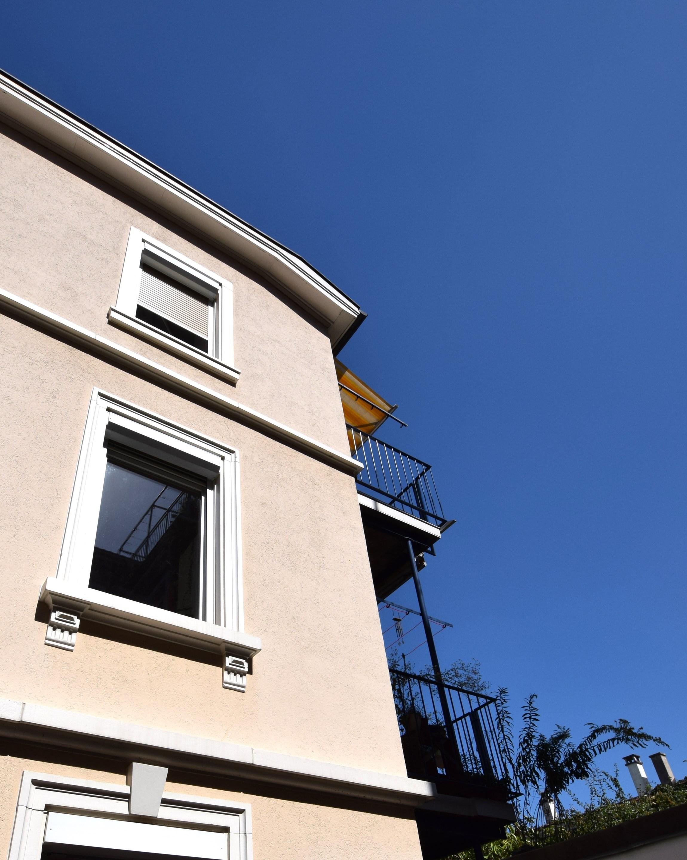 Balkone im Ober- und Dachgeschoss