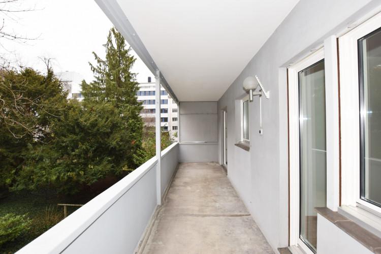 Balkon hofseitig