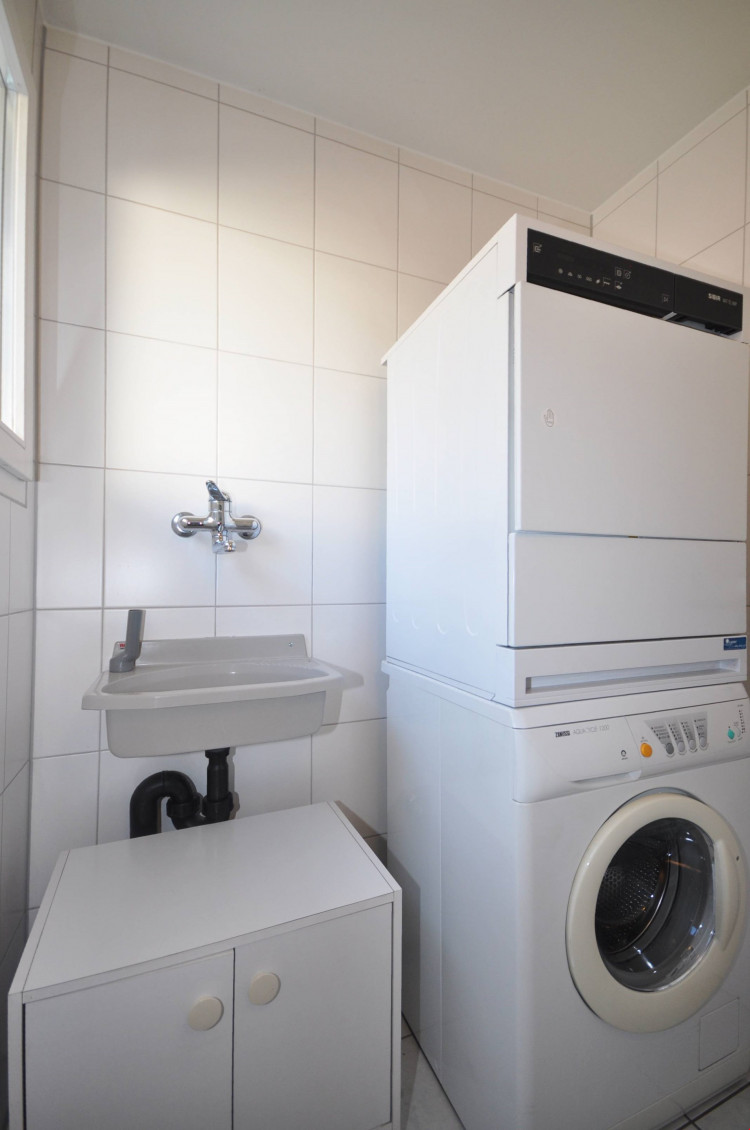 Réduit mit Waschturm