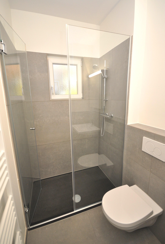 Neue Dusche mit WC