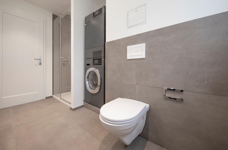 Dusche/WC in Musterwohnung